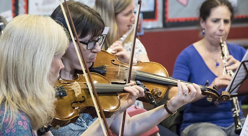 Orchestra return with spring concert