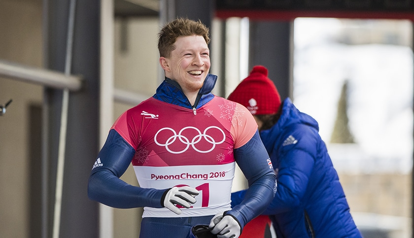 Skeleton star Jerry Rice finishes tenth in PyeongChang