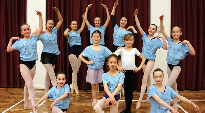 Twelve young dancers get their turn in the spotlight