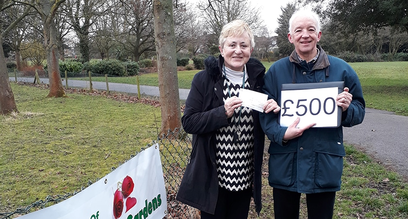 Boost for Friends of Pinner Village Gardens
