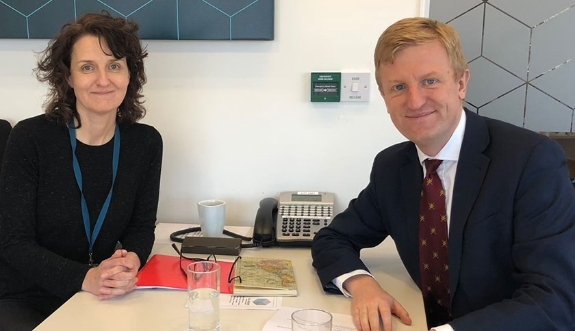 Housing Association Pledges Improvements after Meeting with Hertsmere MP