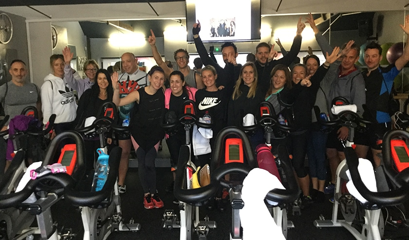 Cyclists aim to find cure for MS