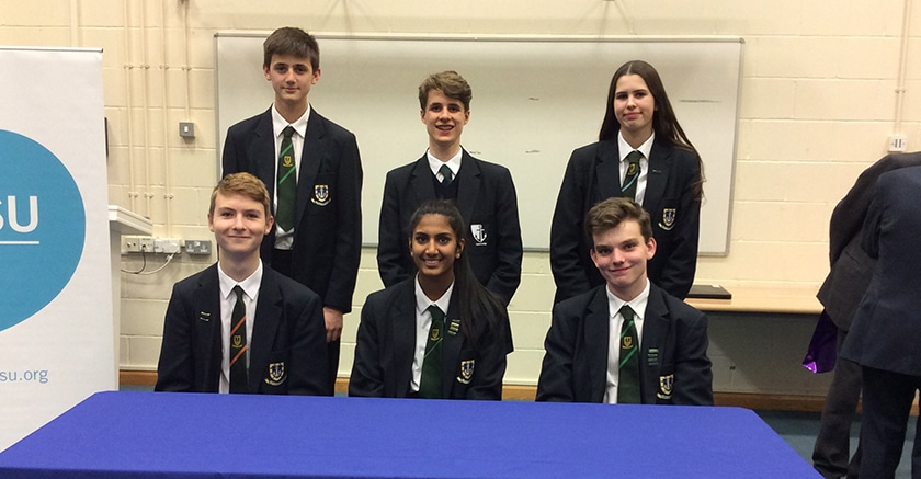 Success for students at English Speaking Union