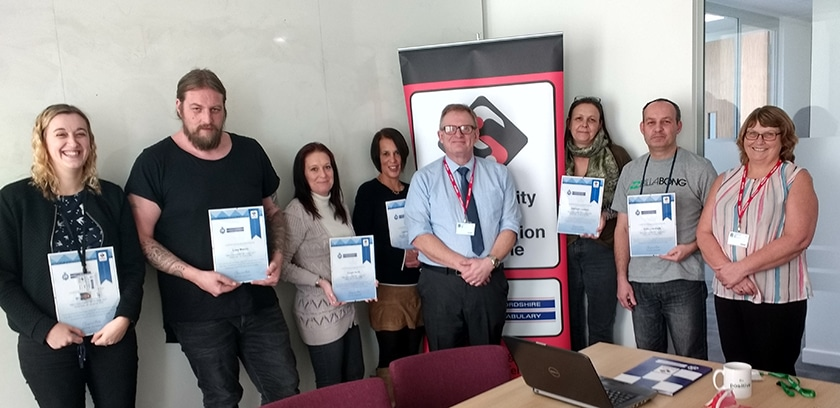 New members join community safety accreditation scheme