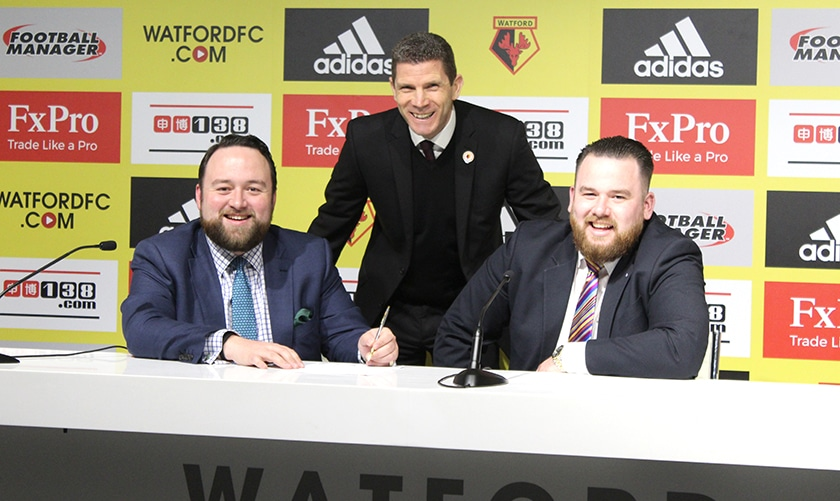 Funeral directors show their support for local community through Watford FC's CSE Trust