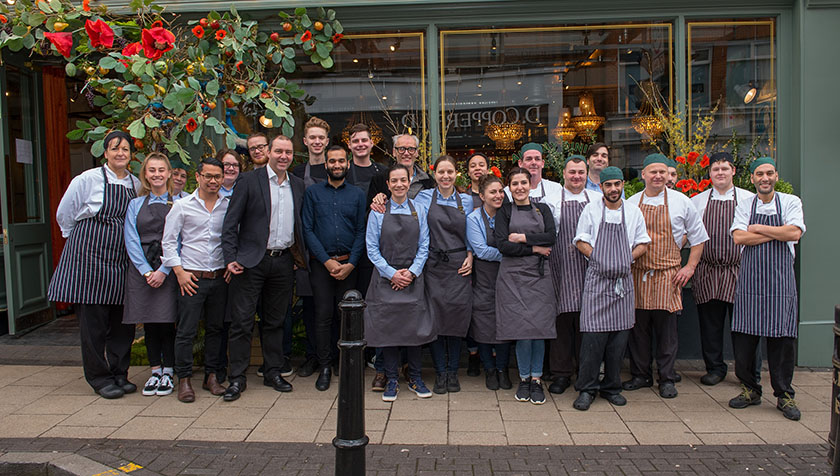 The 'Best of Bill's' unveiled in St Albans