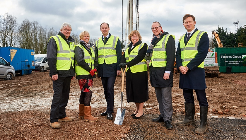 Construction of first homes begins at Watford Riverwell